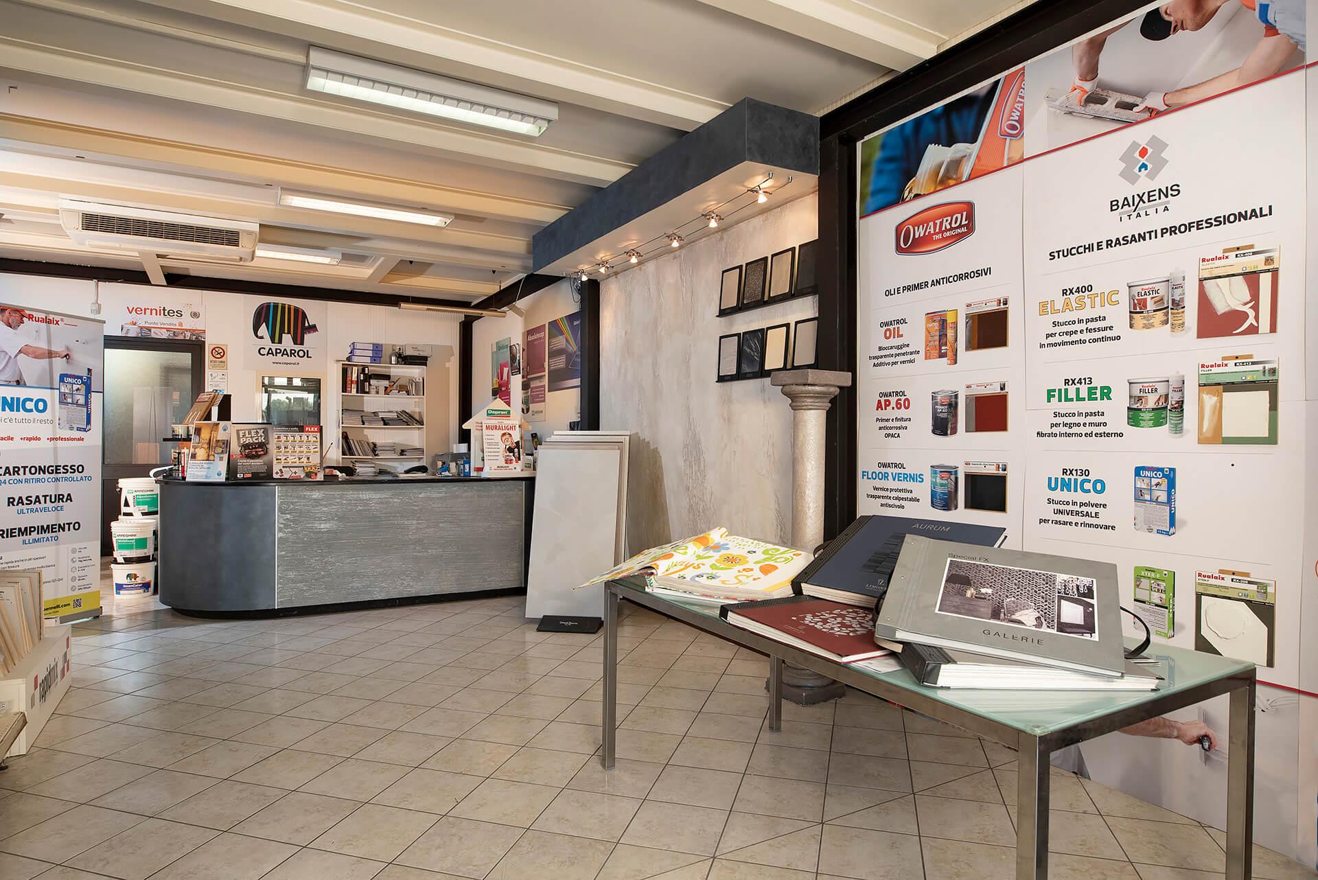 punto vendita del colorificio area colore a asti in corso ivrea