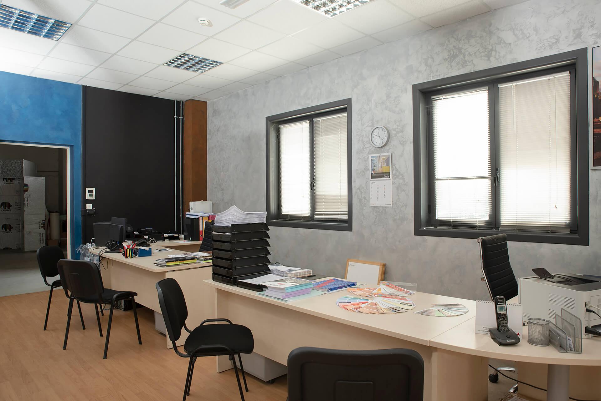 uffici del colorificio area colore a clavesana